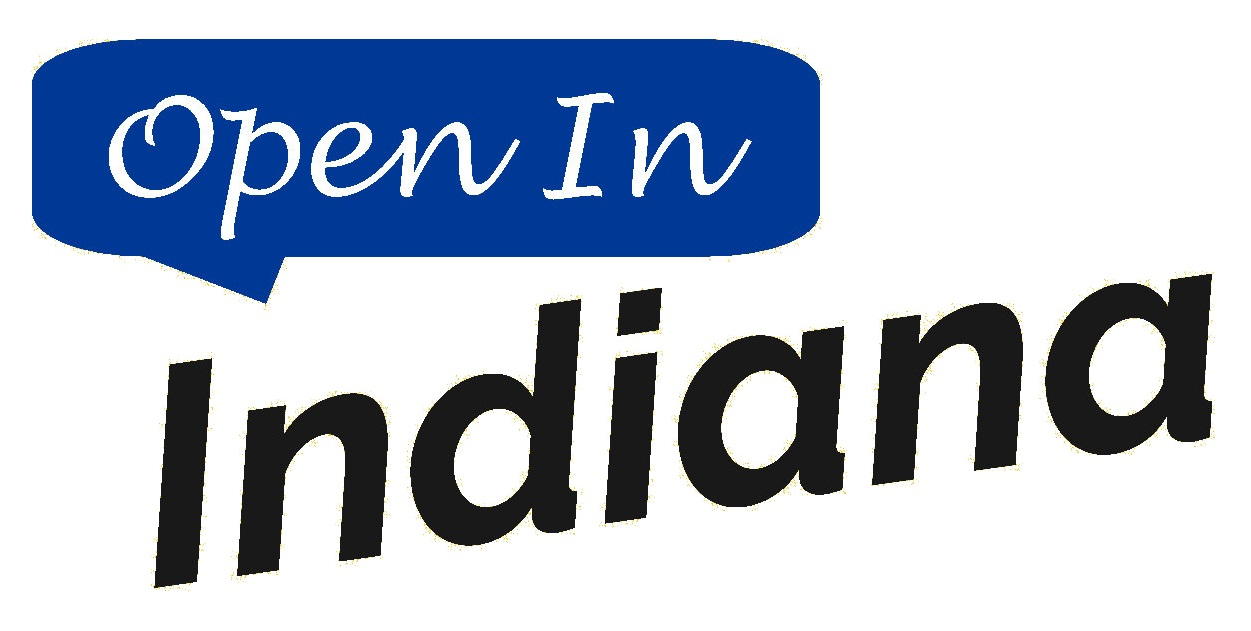 Open In Indiana Logo